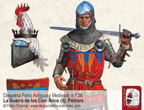 Tácticas de caballería en el siglo XIV