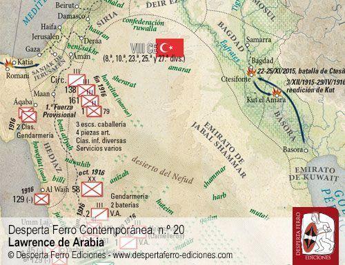 El mundo árabe antes de Lawrence - Lawrence de Arabia - Desperta Ferro Contemporánea