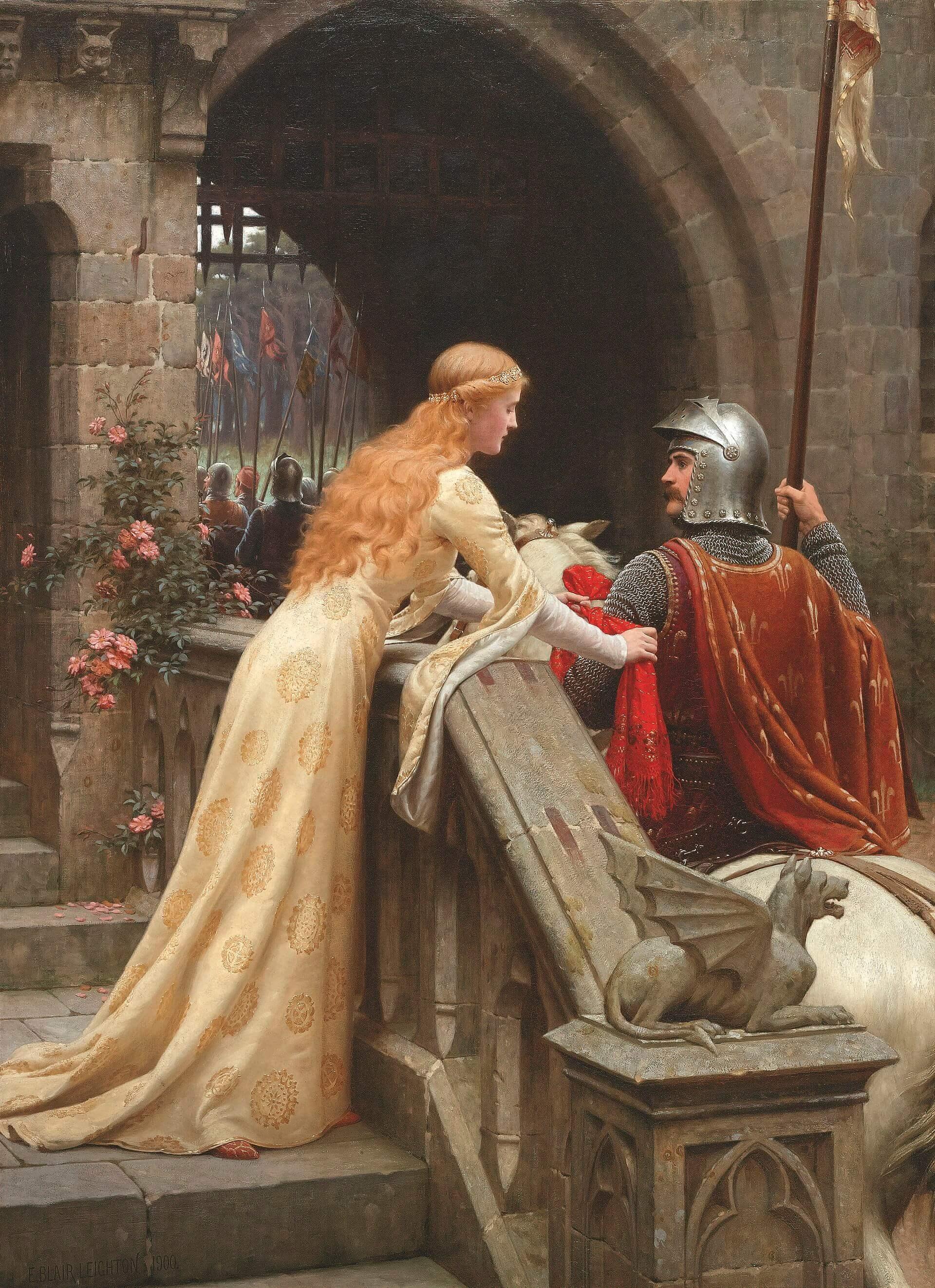 Sansa Stark ideales caballería