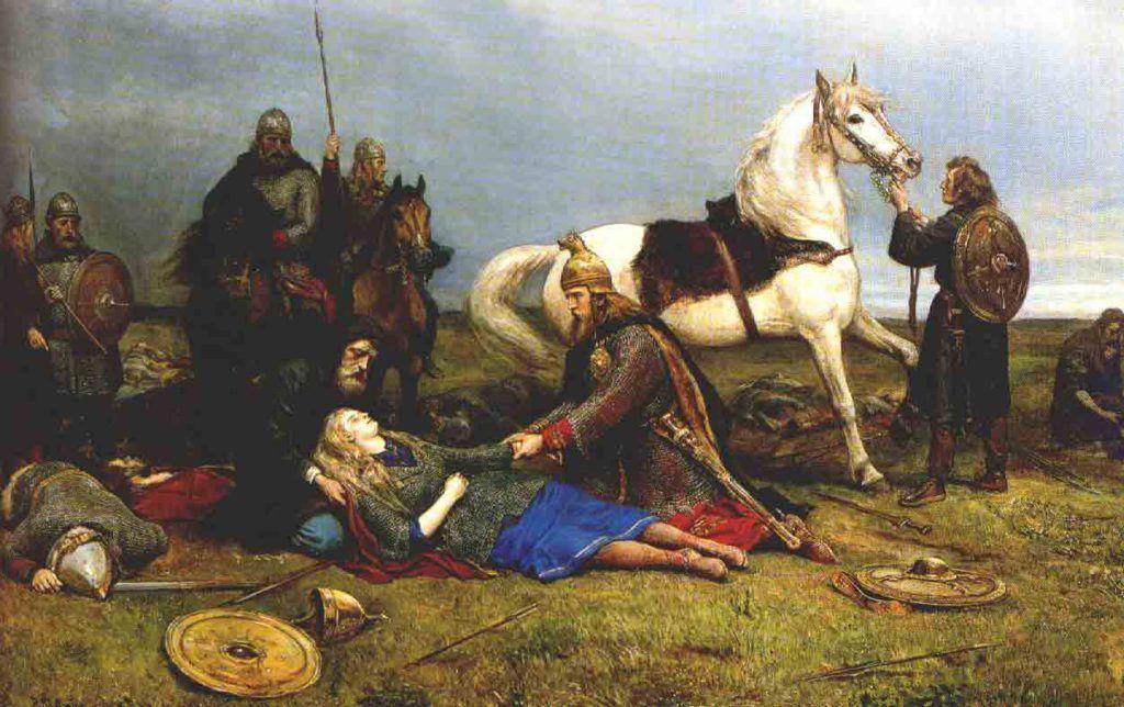 Valkiria valquiria mujeres vikingas