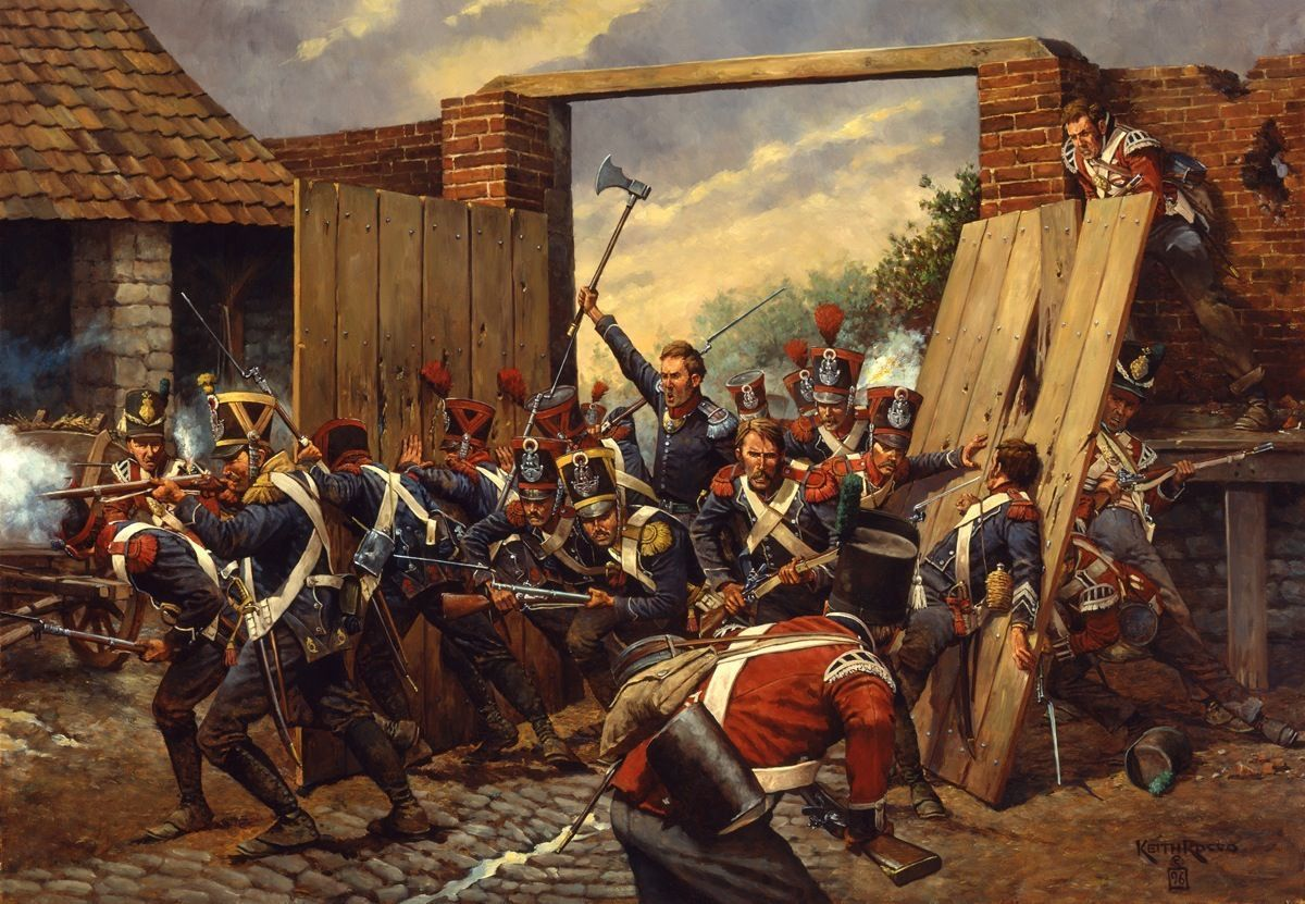 Hougoumont Waterloo Keith Rocco