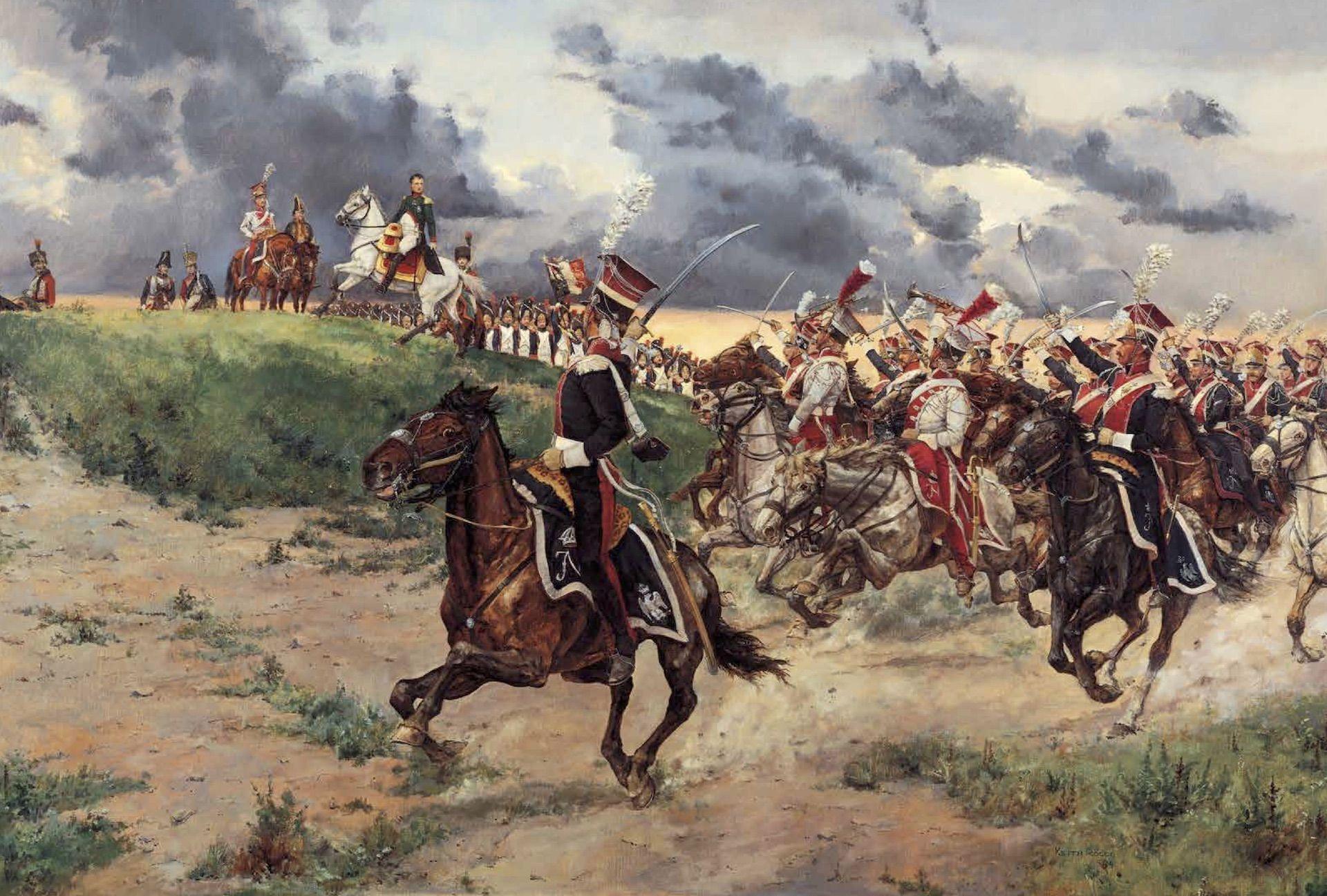 Lanceros polacos batalla de Liebertwolkwitz