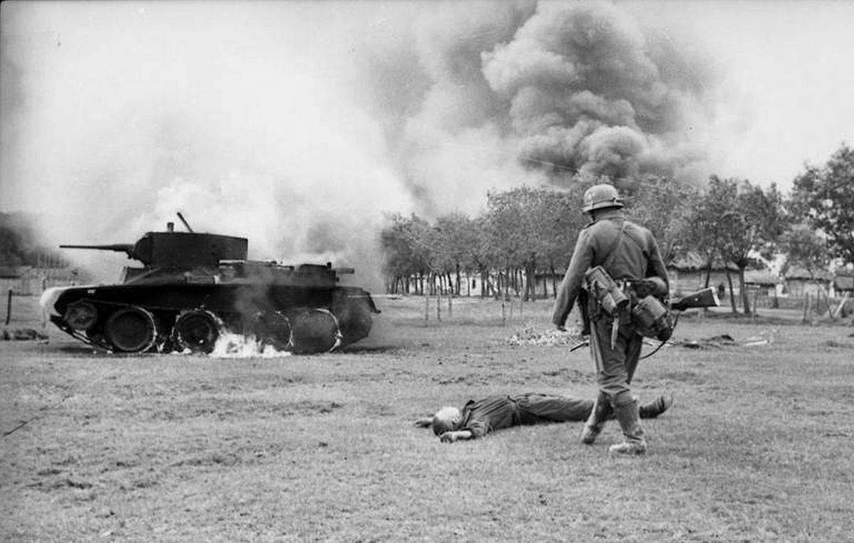 Operación Barbarroja hacia Stalingrado