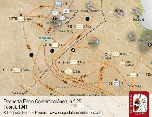 Los combates en Sollum y el paso de Halfaya por Filippo Cappellano (Ufficio Storico dell'Esercito italiano)
