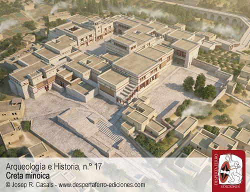 Arquitectura minoica. Palacio de Knossos Cnoso John McEnroe