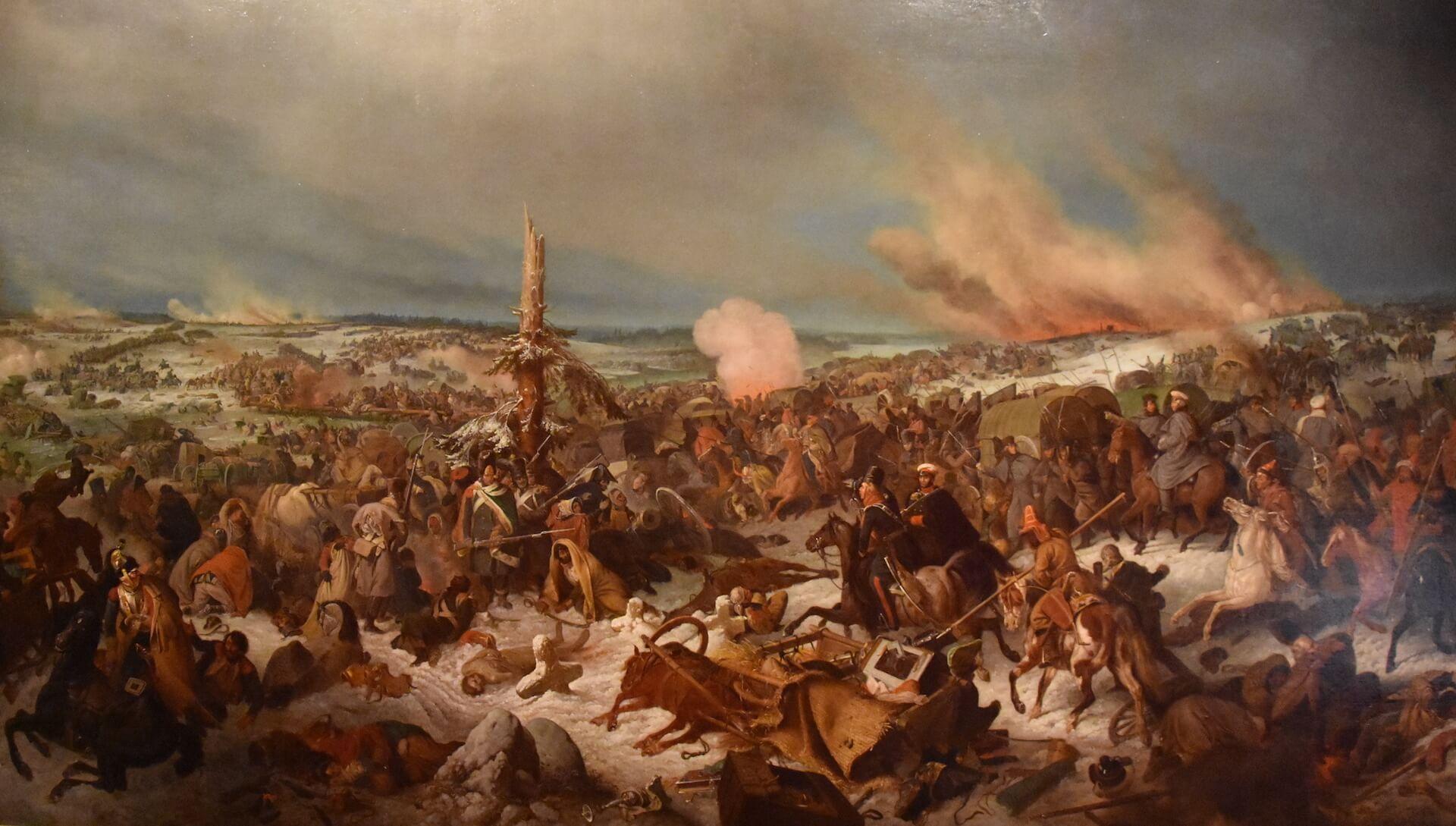 batalla de la Berézina Beresina