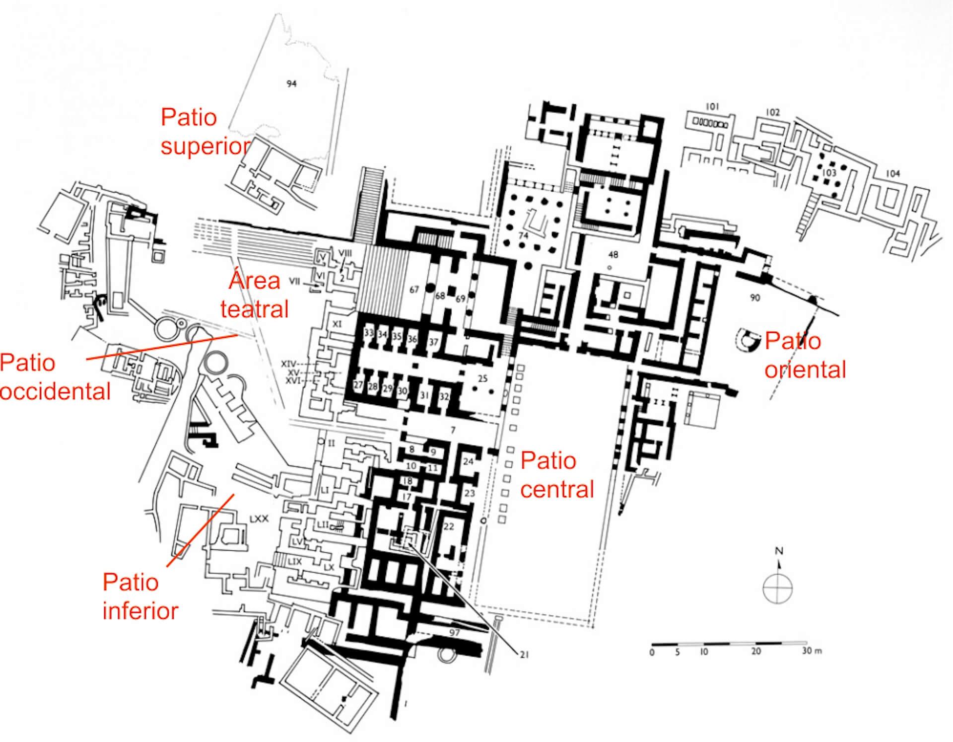 Palacio Festo Creta minoica
