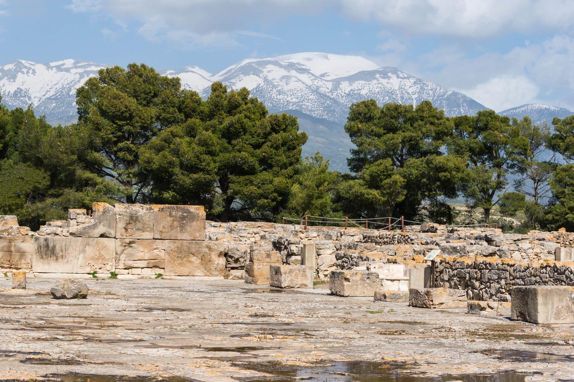 Palacio de Festo Creta minoica