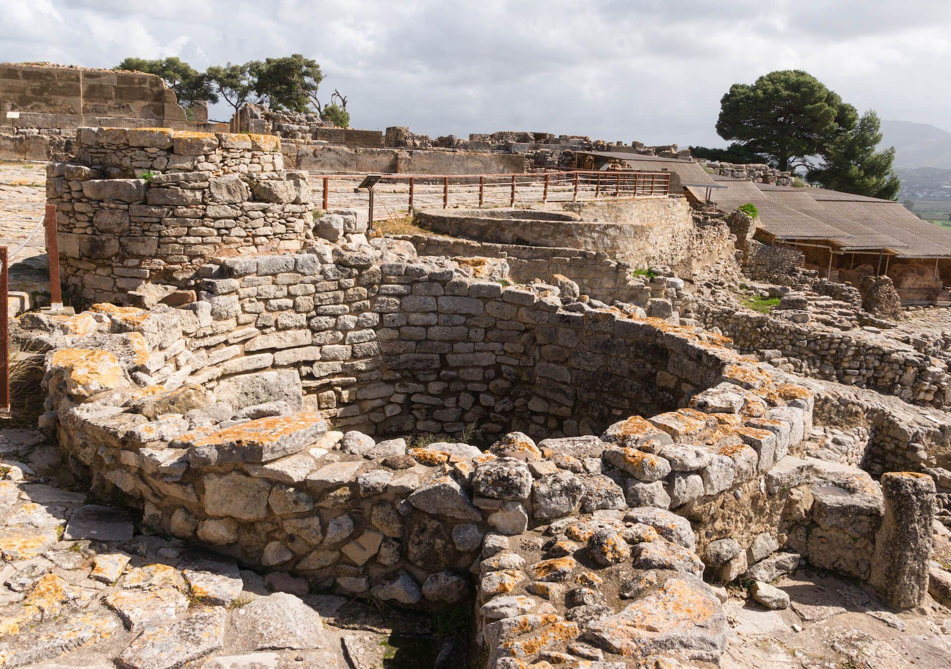 Palacio de Festo Creta