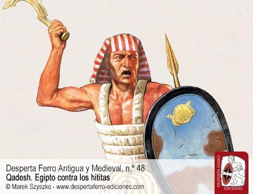 Soldados del faraón. El Ejército de Ramsés II por Javier Martínez Babón (Museo Egipcio de Barcelona)