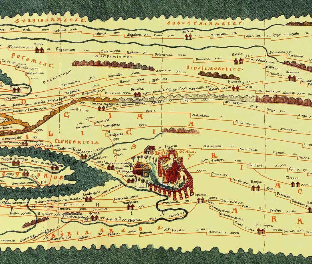 Tabula Peutingeriana Antioquía