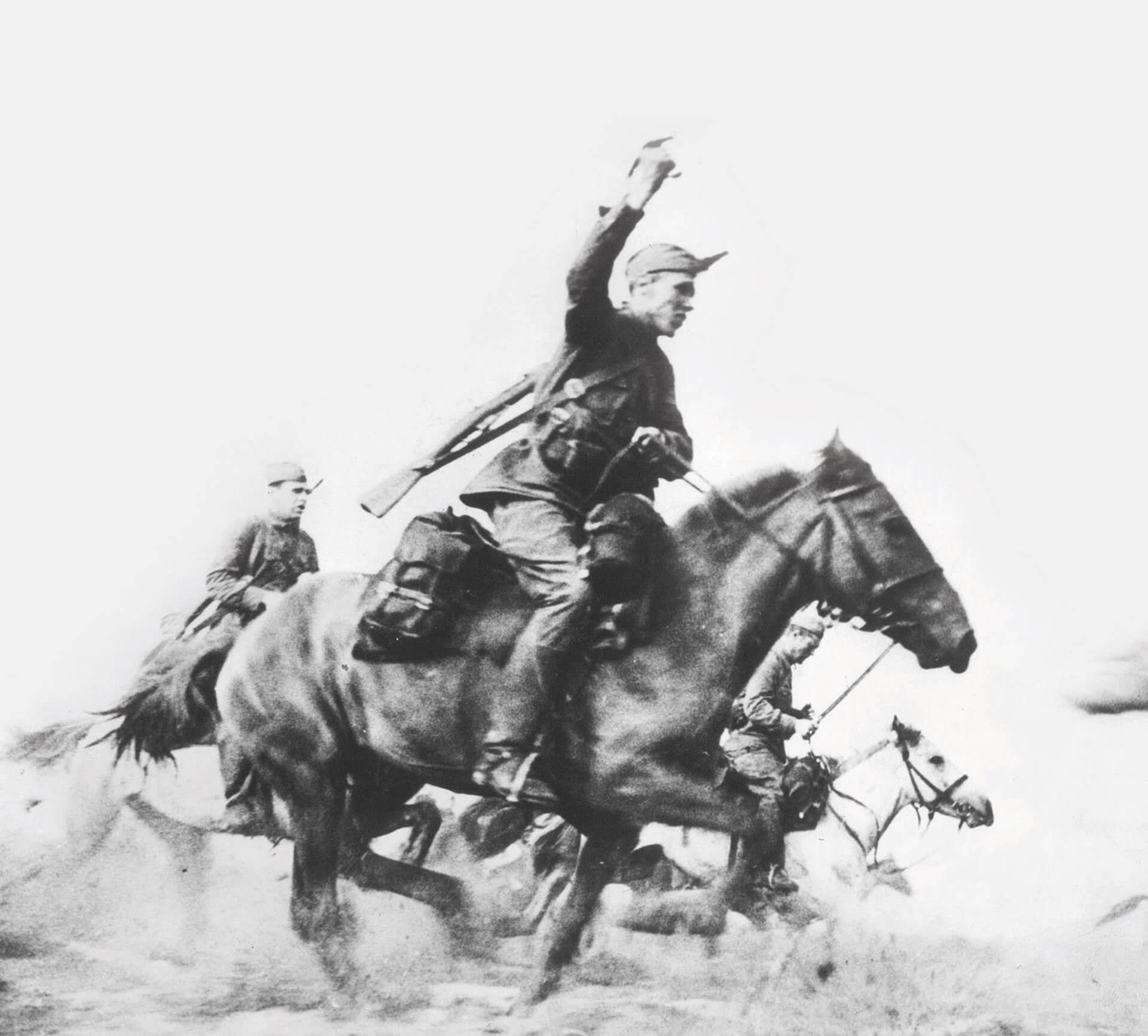 caballería Ejército Rojo