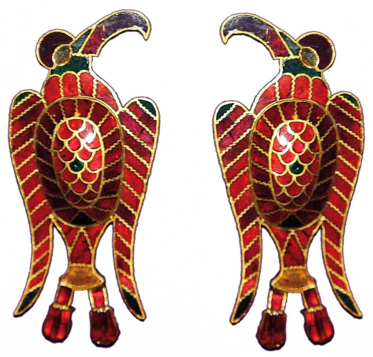 fíbulas de águila origen de los visigodos