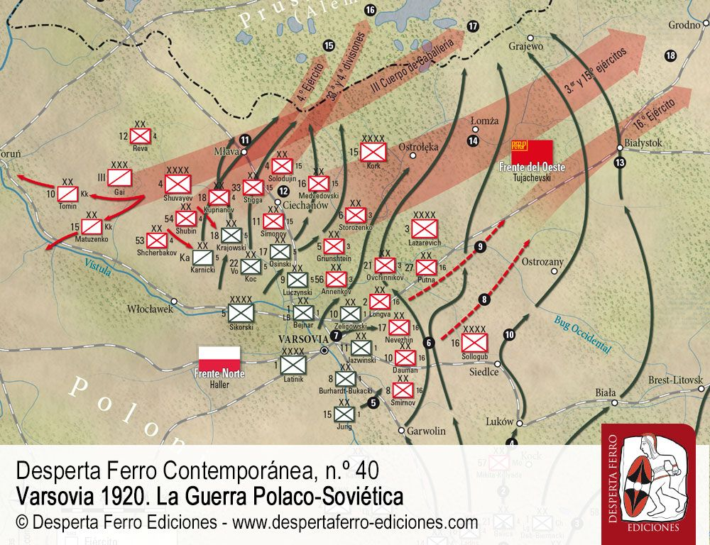 La batalla del Vístula Guerra Polaco Soviética por Janusz Odziemkowski (Instytut Nauk Historycznych)