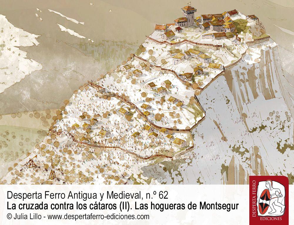 Las hogueras de cátaros Montsegur por Rodrigue Tréton (FRAMESPA)