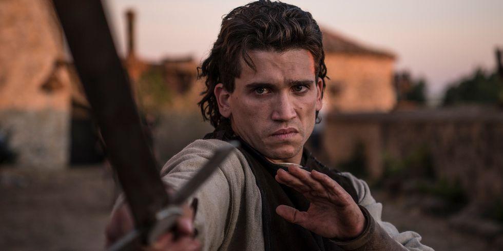 El Cid Rodrigo Díaz de Vivar Campeador juvemtud Jaime Lorente serie Amazon