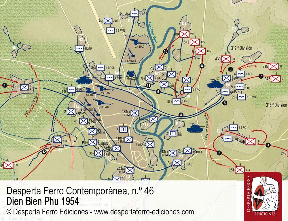 La caída de Dien Bien Phu por Kevin Boylan (U. S. Army Center of Military History) y Luc Olivier